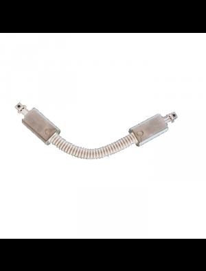 Joint flexible 4 core pour les lampes rail - Blanc