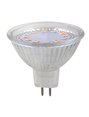 Spot LED 3W MR16 12V - Verre - Blanc froid
