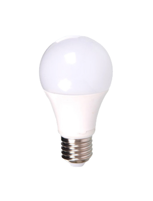 Ampoule LED - 5W 230V E27 A60 - Thermoplastique - Blanc chaud
