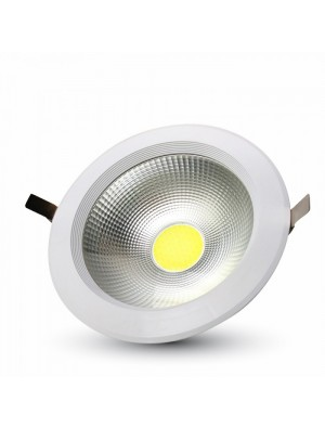 Spots LED encastrables COB 30W- Blanc chaud