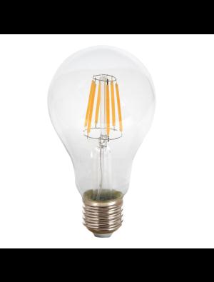 Ampoule LED 8W 230V E27 A60 - Verre - Blanc Chaud