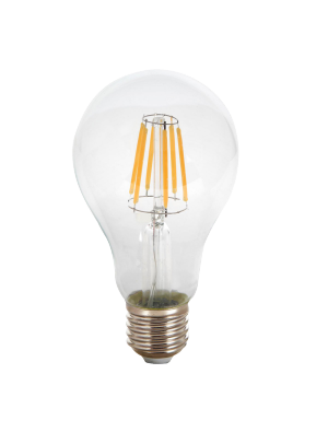 Ampoule LED 10W 230V E27 A67 - Verre - Blanc Chaud