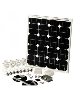 Solar Mate 5 - Kit d'éclairage solaire 43w (ampoules)