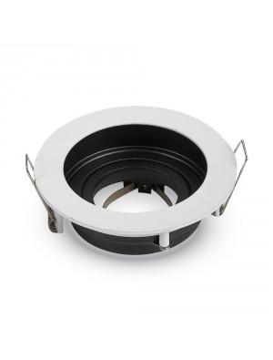 Montage pour spots LED GU10 Blanc Rond