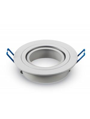 Montage pour spots LED 1*GU10 Blanc Rond