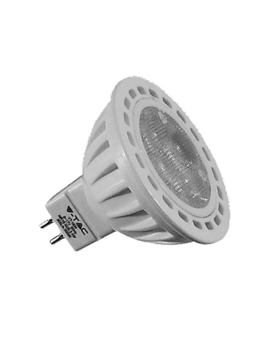 Spot LED 4*1W GU5.3 12V - LED Plastique - Blanc naturel
