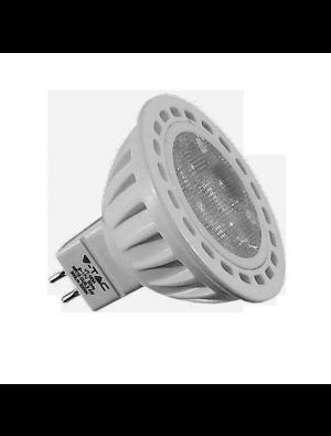 Spot LED 4*1W GU5.3 12V - LED Plastique - Blanc chaud
