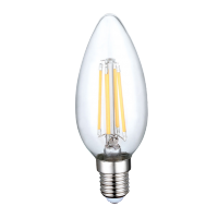 Ampoule LED 4W 230V E14 - Verre - Blanc Naturel