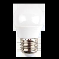 Ampoule LED 6W 230V E27 - Plastique - Blanc Chaud