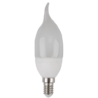 Ampoule LED 6W 230V E14 - Bougie Flamme - Blanc naturel