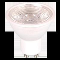Spot LED 7W GU10 220V - avec lentille - Blanc chaud dimmable