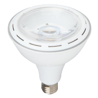 Ampoule LED 15W 230V E27 - Plastique - Blanc naturel