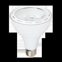 Ampoule LED 12W 230V E27 - Plastique - Blanc Froid