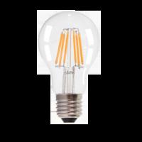 Ampoule LED 4W 230V E27 - Verre - Blanc Chaud