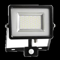 Projecteur LED 50W - PIR avec détécteur - Blanc froid