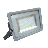 Projecteur LED 100W - SMD Ultra fin - Blanc chaud