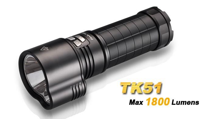 Fenix TK51 - 1800 LUMENS