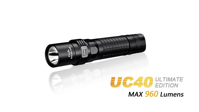 Fenix UC40 Ultimate Edition - 960Lumens - USB rechargeable