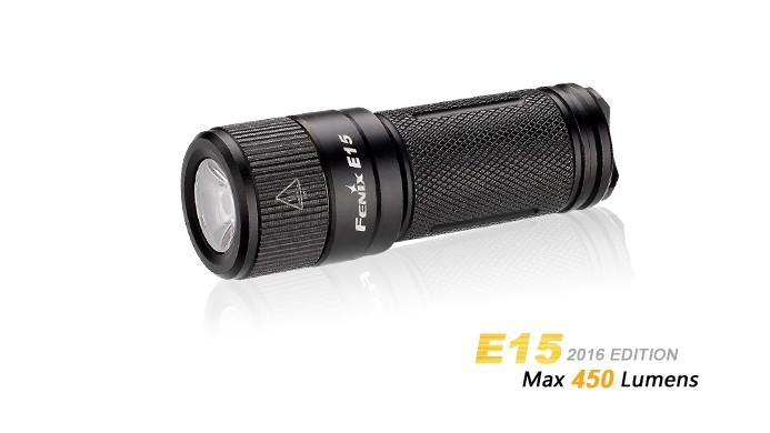 Fenix E15 - 450 Lumens - édition 2016