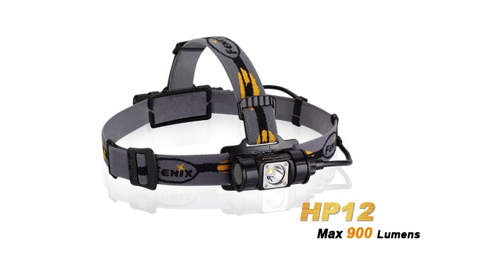 Fenix HP12 - 900 Lumens - IPX8 waterproof
