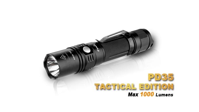 Fenix PD35 Tactical édition - 1000 Lumens