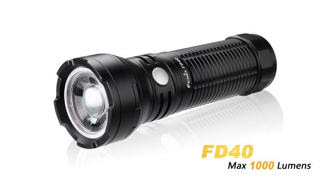 Fenix FD40 - Faisceau réglable - 1000 Lumens