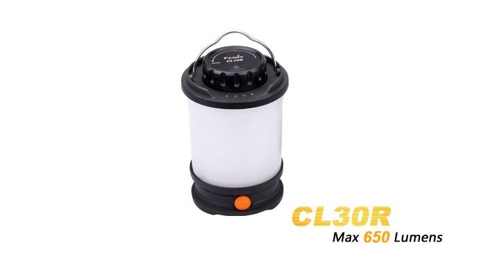 Fenix CL30R - lanterne led rechargeable + 3 piles ARB-L18 2600mAh
