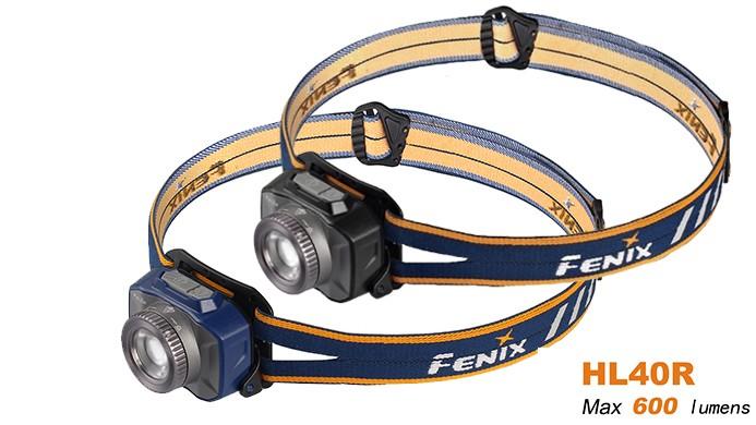 Fenix HL40R - lampe frontale rechargeable focusable - 600 lumens