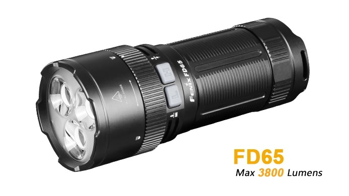 Fenix FD65 - 3800 Lumens - focale - 410 mètres