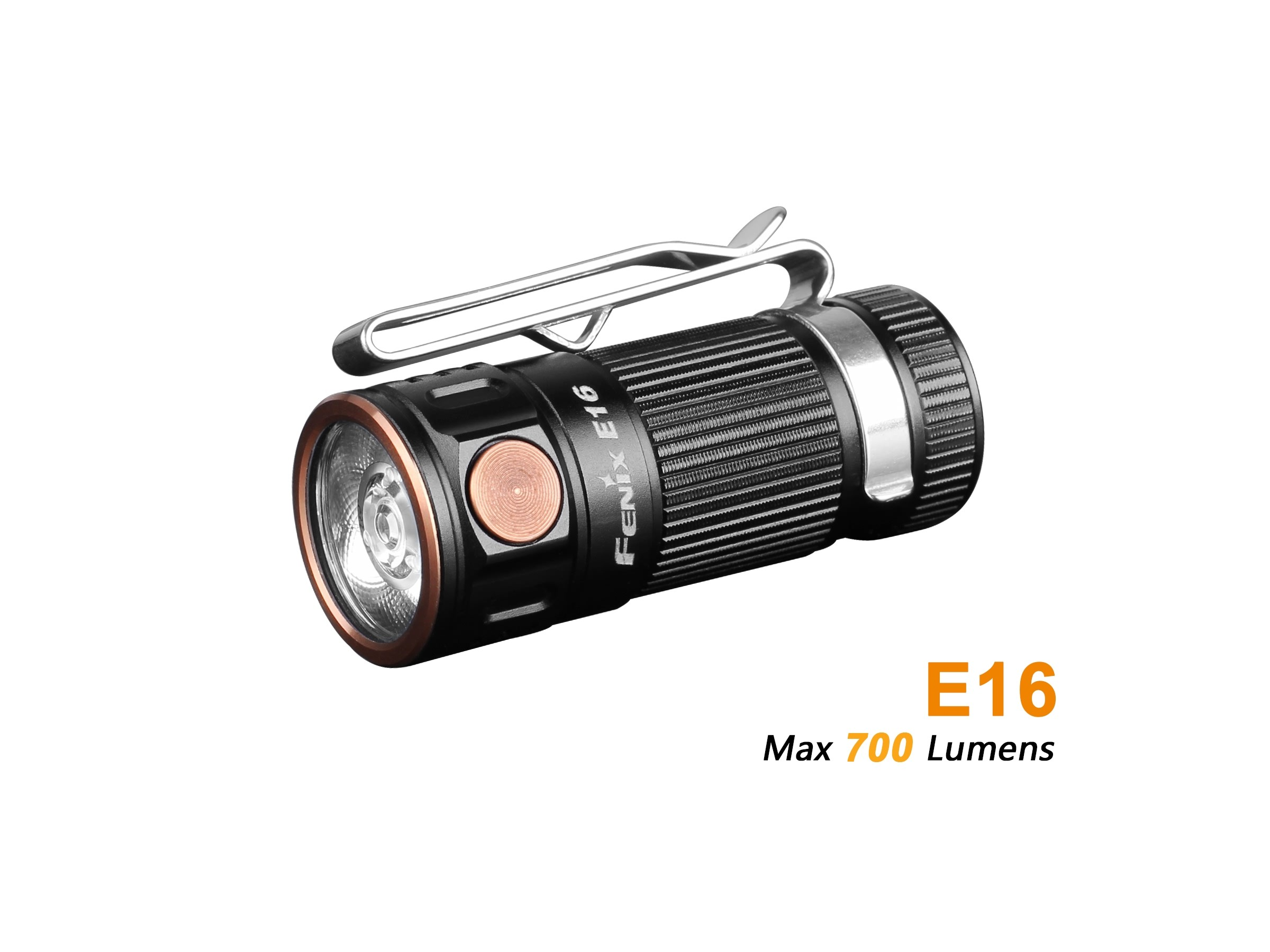 Fenix E16 - 700 lumens - 142 mètres de portée