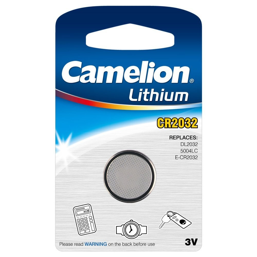 1 Pile CR2032 Lithium - sous blister - CAMELION