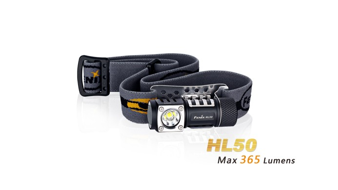 Fenix HL50 - Design ultra compact