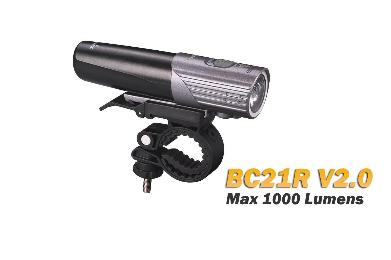Fenix BC21R V2.0 - 1000 Lumens - rechargeable batterie incluse