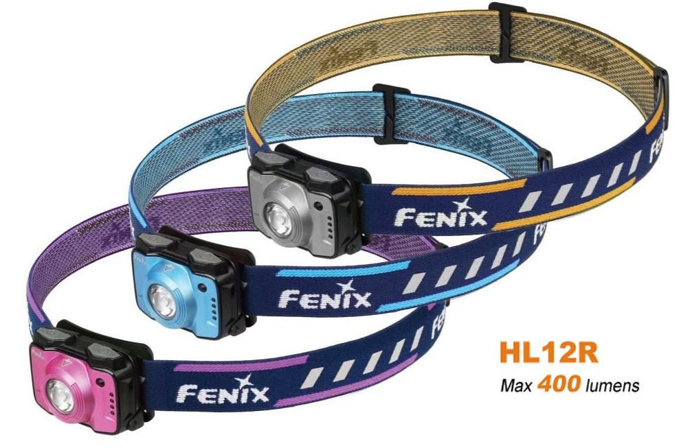 Fenix HL12R rechargeable - 400 lumens