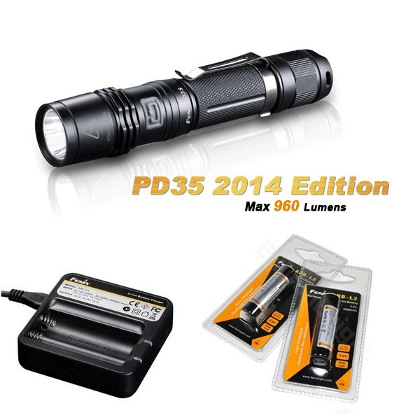 Pack Fenix PD35 édition 2014 - 960 Lumens