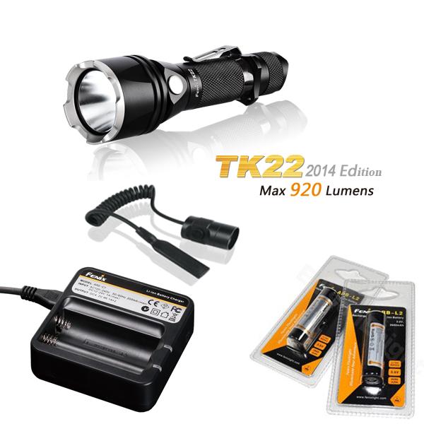 Pack Tactique Fenix TK22 édition 2014 - 920 Lumens