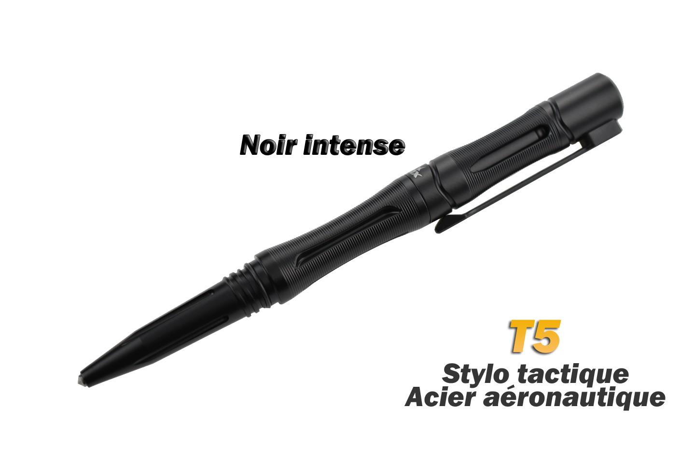 STYLO TACTIQUE FENIX HALBERD T5 - Noir