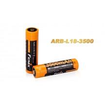 Pile rechargeable Fenix ARB-L18 - 18650 - 3500 mAh pour toutes les lampes Fenix utilisant des 18650