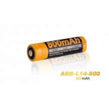 Pile rechargeable Fenix ARB-L14 - 14500 - 800 mAh pour LD11, LD12 éd. 2017 et E25 UE