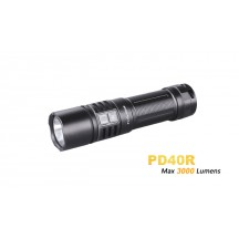 Fenix PD40R - Rechargeable USB - 3000 Lumens - 7H25 à 350 Lumens !