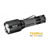 TK25 Red Version - 1000 Lumens blanc et 310 Lumens rouge
