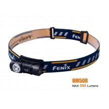 Fenix HM50R - frontale polyvalente rechargeable - 500 Lumens avec batterie
