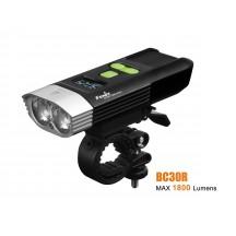 Fenix BC30R 2017 Edition - 1800 Lumens - avec batterie interne et chargeur USB - écran OLED