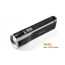 Fenix UC52 - lampe puissante, rechargeable et étanche avec écran OLED - 3100 Lumens