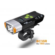Fenix BC35R lampe de vélo rechargeable - 1800 lumens + technologie anti éblouissement et Alarme anti vol