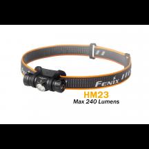 Fenix HM23 - Lampe frontale AA pile incluse - 240 lumens