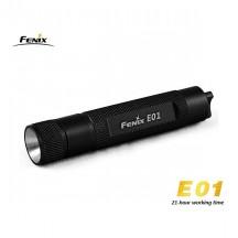 Fenix E01 - Noir