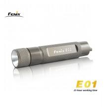 Fenix E01 - Titane