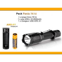 Pack Fenix TK16 - 1000 Lumens