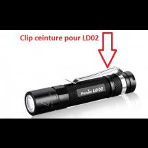 Clip ceinture métallique pour LD02